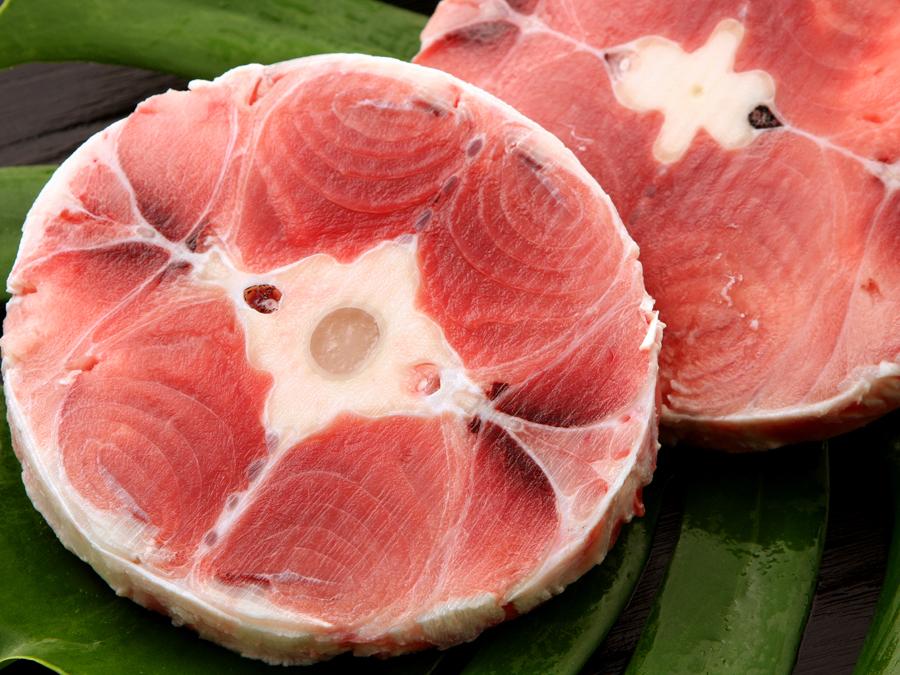 big eye tuna tail
